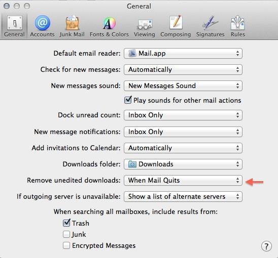 Mail.app Preferance